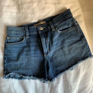 Joe's Jeans Denim Cutoff Shorts, Size 26